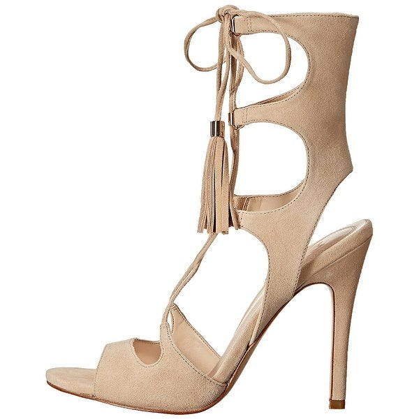 Marc Fisher Womens larsa Open Toe Casual Ankle Strap Sandals