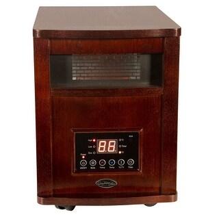 Comfort Glow QEH1501 Deluxe Infrared Quartz Electric Heater, Cherry, 5120 BTU