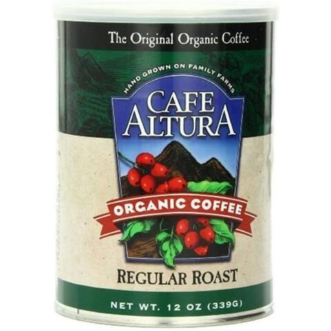 Cafe Altura - Regular Roast Ground Coffee ( 6 - 12 OZ)
