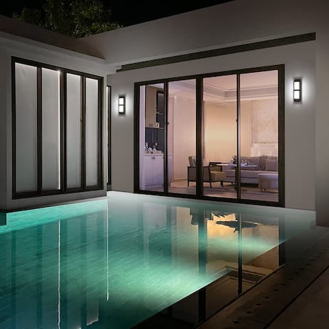 Bandeau LED 3-CCT Indoor and Outdoor Wall Light