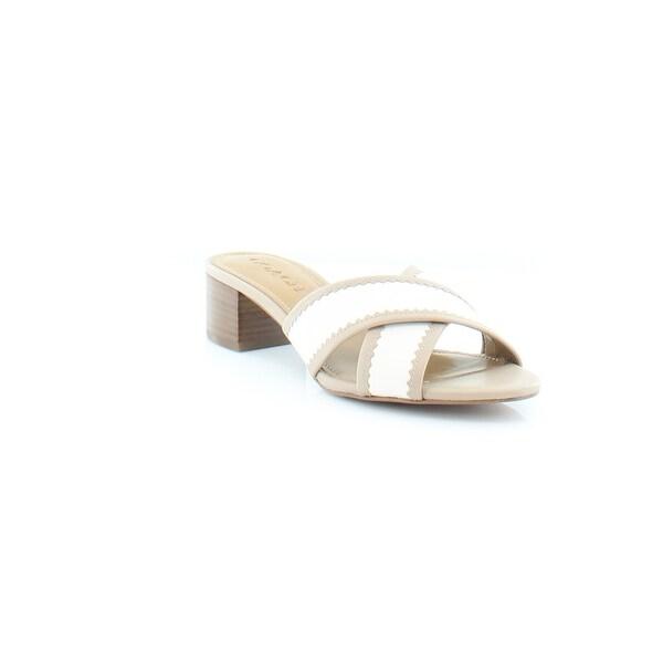 Coach Murielle Women's Sandals & Flip Flops Chalk/Stone - 7