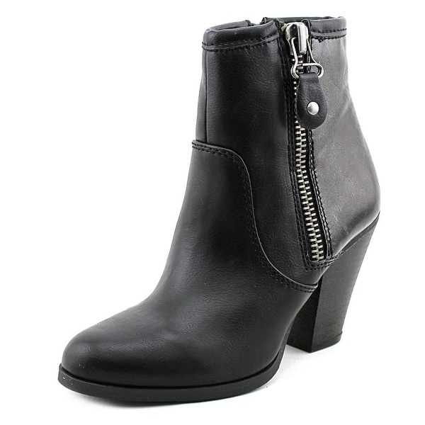 Nine West Marilyn3y Round Toe Synthetic Bootie