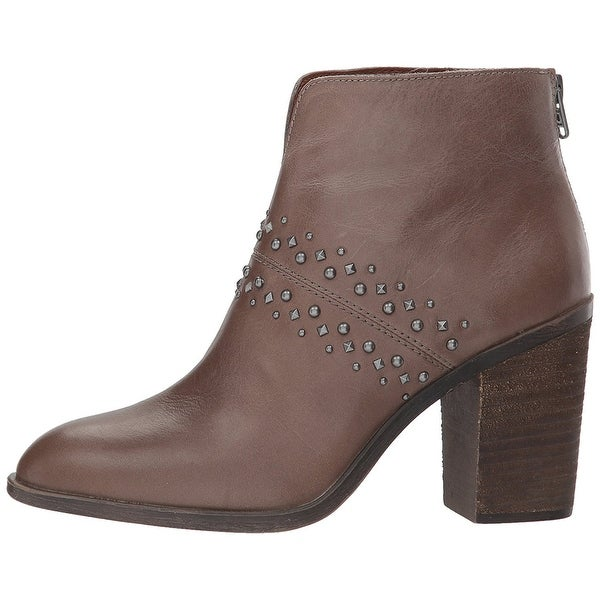 Lucky Brand Womens sancha Almond Toe Ankle Fashion, rye tuscadero, Size 9.0
