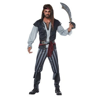 Mens Scallywag Pirate Halloween Costume