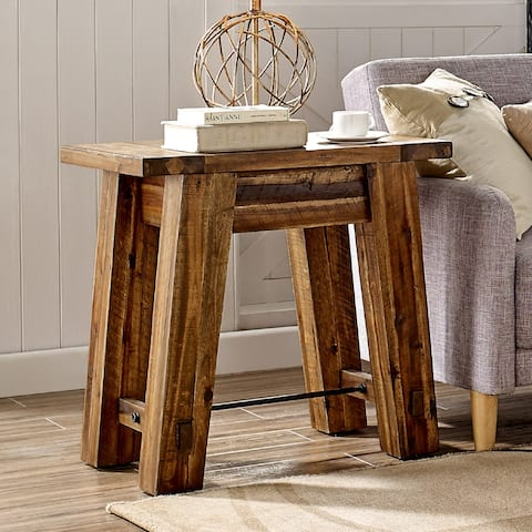 Carbon Loft Bahamondes 27-inch Wood End Table