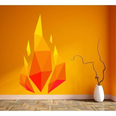 Bonfire fire Wall Decal, Bonfire fire Wall sticker, Bonfire fire wall decor, Bonfire fire Wall Art
