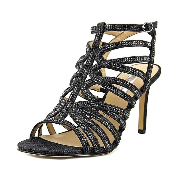 INC International Concepts Womens Gawdie Open Toe Ankle Strap Classic Pumps