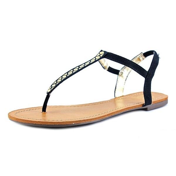 Material Girl Sage Women Black Sandals