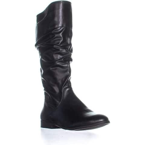 Style & Co. Womens Kelima Almond Toe Knee High Fashion Boots
