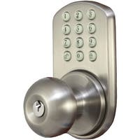 Morning Industry Inc Touchpad Electronic Doorknob (satin Nickel)