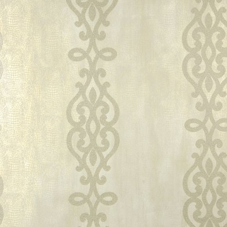 Brewster 2542-20719 Anaconda Champagne Glitter Stripe Wallpaper