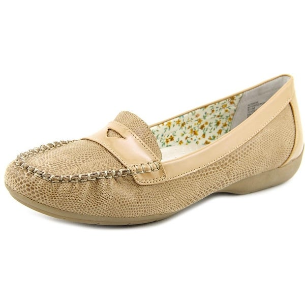 White Mountain Possible Women Round Toe Canvas Loafer