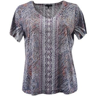 Women - Plus Size V Neck Rhinestone Design Fashion Blouse Tee Shirt Top Navy|https://ak1.ostkcdn.com/images/products/is/images/direct/5a3a514733b431302e1ab6a7083a3832469c8c1b/Women---Plus-Size-V-Neck-Rhinestone-Design-Fashion-Blouse-Tee-Shirt-Top-Navy.jpg?impolicy=medium