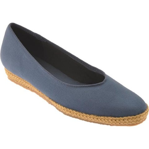 Beacon Shoes Women's Phoenix Navy Canvas