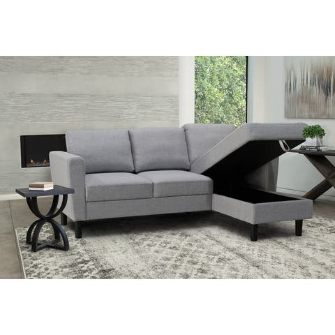 Abbyson Taylor Fabric Storage Sectional