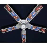 Cars Characters 52in Ceiling Fan Light Kit - Multi