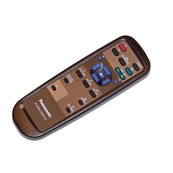 OEM Panasonic Remote Control Originally Shipped With: TH42PW4U, TH-42PW4U, TH42PW4UZ, TH-42PW4UZ, TH42PW5, TH-42PW5