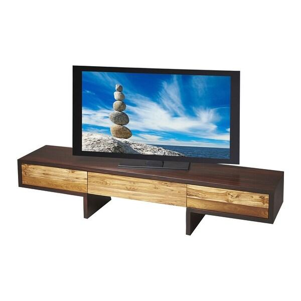 Shop Offex Modern Rectangular Wooden Entertainment Center