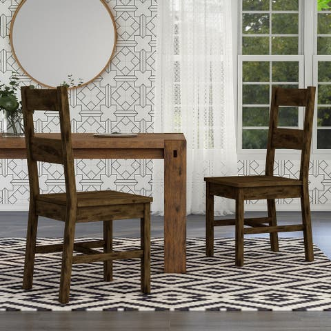 Carbon Loft Glamdring Rustic Dining Chairs (Set of 2)