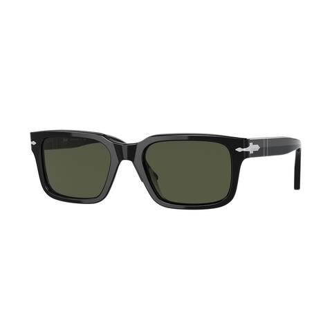 Persol PO3272S 95/31 53 Black Man Rectangle Sunglasses