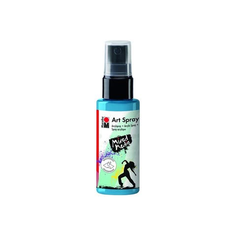 12099005141 marabu mixed media art spray 1 7oz sky blue