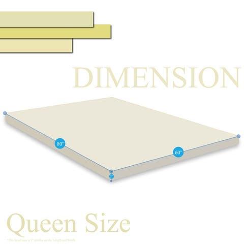 ONETAN 2-Inch High Density Gel Foam Mattress Topper, Add Comfort To Mattress