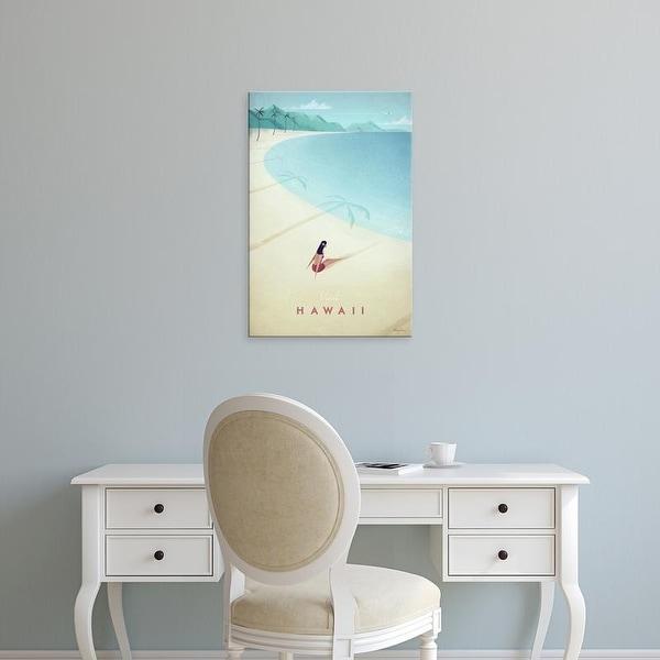 Easy Art Prints Henry Rivers's 'Hawaii' Premium Canvas Art