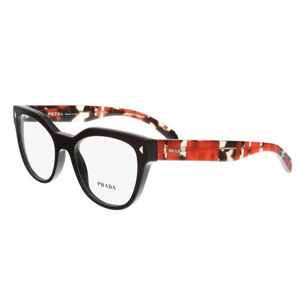 1af391580c9 Shop Prada PR 21SV DHO1O1 Brown Square Optical Frames - 51-19-140 ...