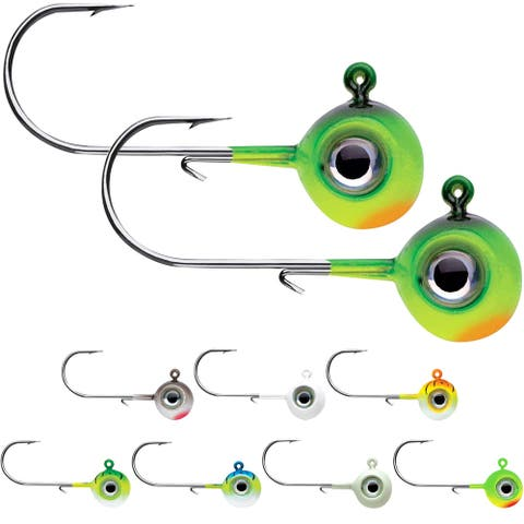 VMC 1/16 oz. Neon Moon Eye Jig - 2 Pack - 1/16 oz.