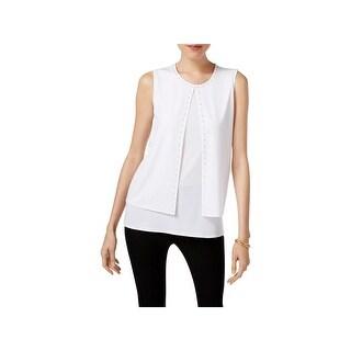 Kasper Womens Shell Suit Separate Top