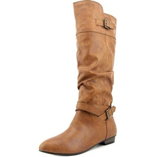 Material Girl Cresta   Round Toe Synthetic  Knee High Boot