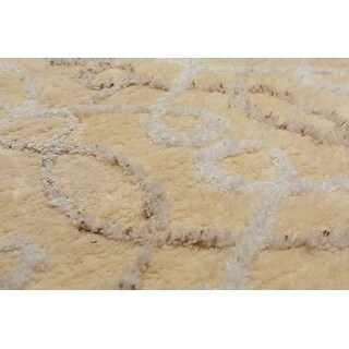 5 X8 Hand Tufted Polyproplene Velvet Soft Oriental Area Rug Vanilla Off White Color 5 X 8 On Sale Overstock 31515298