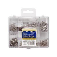 Darice JD Finding Starter Kit/Box Silver NF