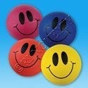 "Rhode Island Novelty 5"" Smile Face Playground Ball Toy Activity and Play"