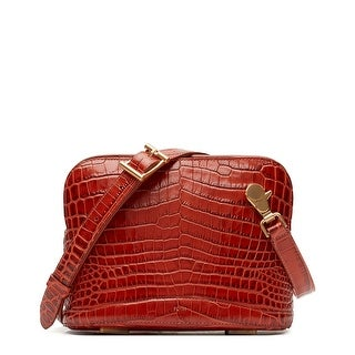 Link to Flynn Elliott Croc-Embossed Leather Crossbody Similar Items in Shop By Style