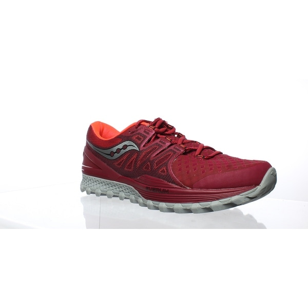 20dc1487 Shop Saucony Mens Xodus Iso 2 Berry Coral Running Shoes Size 12 ...