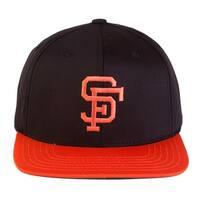 American Needle San Francisco Giants Retro Snapback Hat Cap - Black/Orange