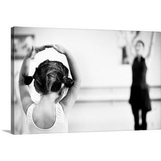 """""""Ballet"""" Canvas Wall Art"""