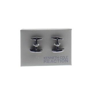 Kenneth Cole Reaction Mens T-Shape Cufflinks Dress Rectangle - o/s