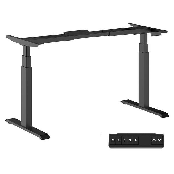 Electric Sit to Stand Desk Frame Workstation. Opens flyout.