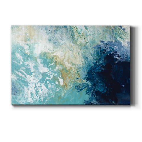 Ocean Flow Premium Gallery Wrapped Canvas - Ready to Hang