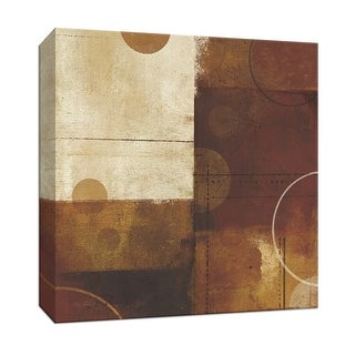 "PTM Images 9-152975  PTM Canvas Collection 12"" x 12"" - ""Geometric Spice III"" Giclee Abstract Art Print on Canvas"