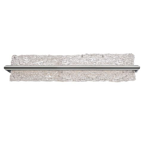 "Modern Forms WS-3925 Vetri 25"" Dimmable LED Bathroom Light - Brushed Aluminum"