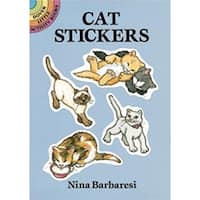 Cat Stickers - Dover Publications