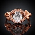 Rose Gold Downtown Abby Inspired Ring - Thumbnail 1