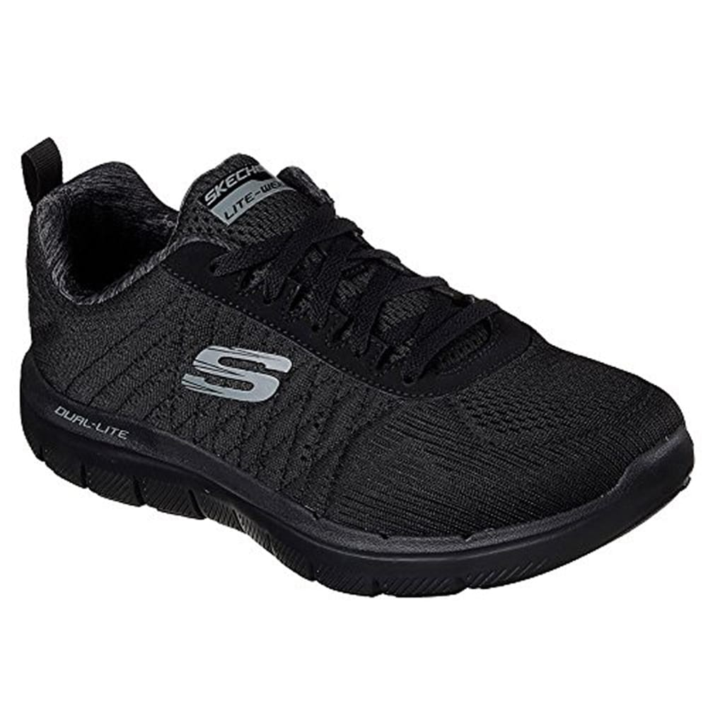 Skechers Flex Advantage 2.0 The Happs Mens Sneakers Black 9.5