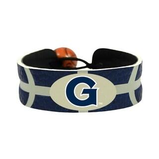 Georgetown Hoyas Team Color NCAA Gamewear Leather Basketball Bracelet