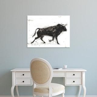 Easy Art Prints Ethan Harper's 'Toro II' Premium Canvas Art
