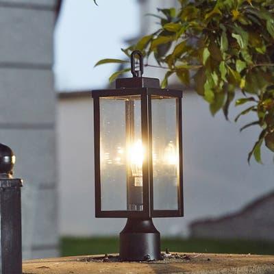 """1-Light Outdoor Post Light - 5.12""""x5.12""""x16.5"""""""