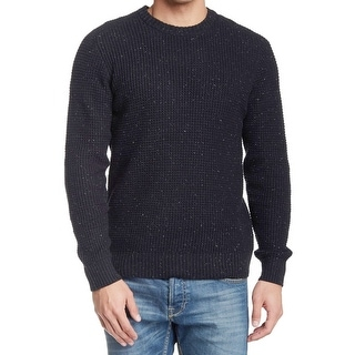 1901 NORDSTROM NEW Gray Mens Size 2XL Waffle-Knit Crewneck Sweater